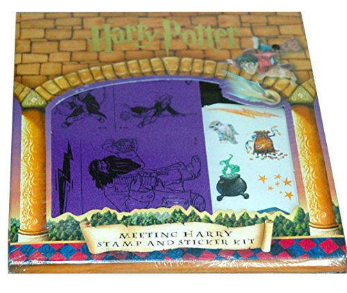Harry Potter: Meeting Harry Stamp and Sticker Kit (Harry Potter, -