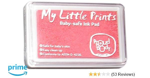 Black Proudbody My Little Prints Baby-Safe Ink Pad