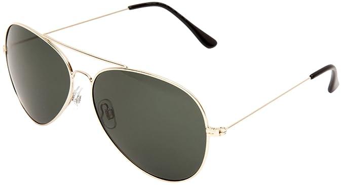 invu aviator sunglasses gold b1411 b amazon in clothing rh amazon in