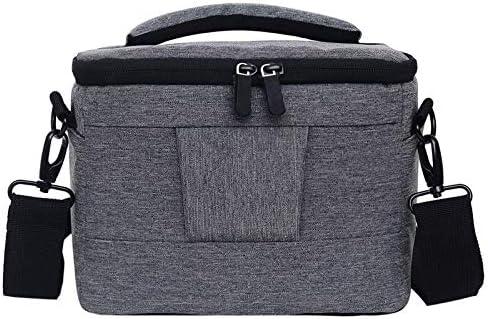 Waterproof DSLR Camera Bag for Nikon Canon Sony Panasonic etc Camera Color : Blue Size:Small Durable
