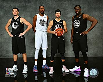 the best attitude 378b9 0f373 Klay Thompson, Stephen Curry, Kevin Durant, Stephen Curry ...