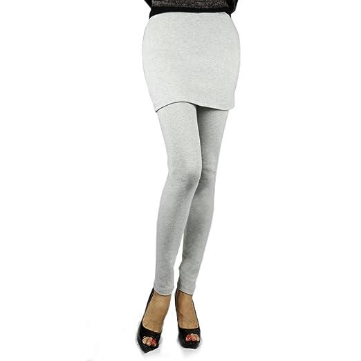517279224dc79b Skirts Leggings for Women, The Elixir Miniskirt Free Size Leggins, Light  Gray