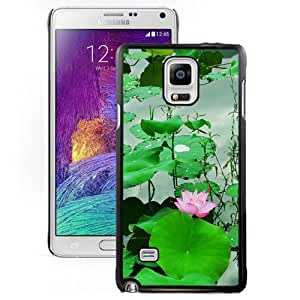 Fresh Lotus Pond Durable High Quality Samsung Note 4 Case