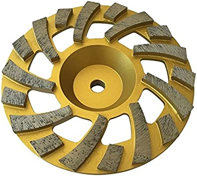 "6"" Premium Turbo Diamond Cup Wheel for Granite Hard Concrete 30//40 Grit"