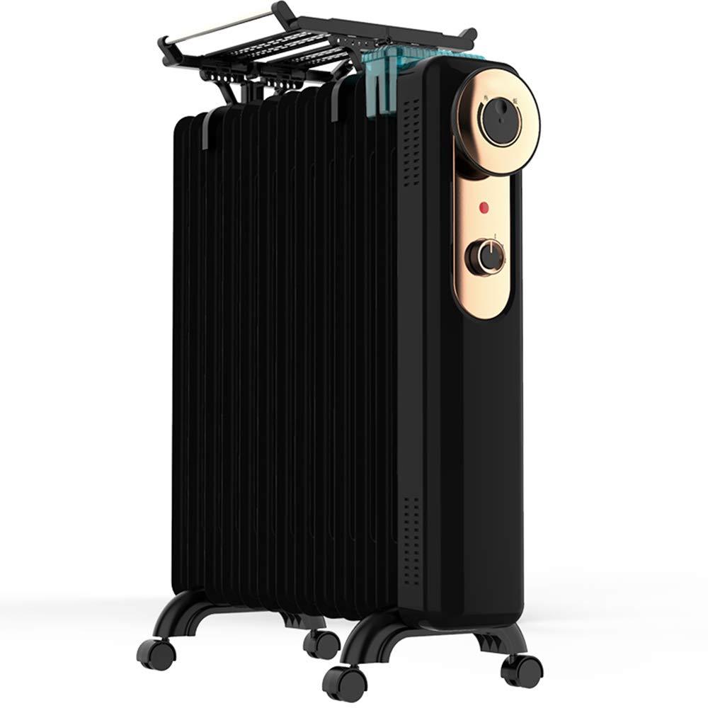 Acquisto ZZHF Riscaldatore, radiatore a bagno d'olio 2KW 13 Dissipatore di calore – Riscaldatore elettrico portatile – 3 impostazioni di alimentazione, temperatura regolabile, calore tagliato in modo sicuro ne Prezzi offerte