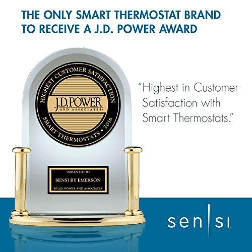 Emerson Sensi Wi-Fi Thermostat 1F86U-42WF for Smart Home, Works with Alexa