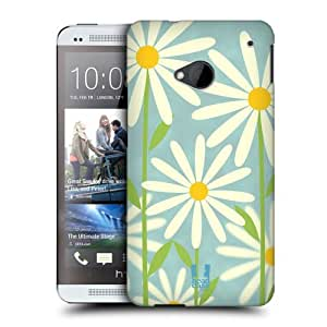 DIY Case Designs Daisy Romantic Flowers Protective Snap-on Hard Back Case Cover for HTC One by ruishername