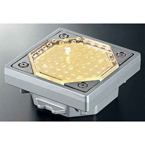 屋外照明 ソーラーライト LED 照明 埋込 駐車場 ライト 外灯 角型 ソーラータイル TL-S100N 電球色 アプローチライト 誘導灯 照明器具 おしゃれ B07DNZDK2R 27000