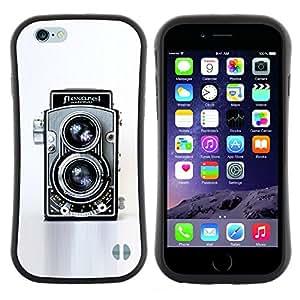 "Pulsar iFace Series Tpu silicona Carcasa Funda Case para Apple Iphone 6 Plus / 6S Plus ( 5.5 ) , Cámara retra de la vendimia Tecnología Arte Fotografico"""