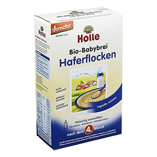 Holle Bio Babybrei Haferflocken, 250g