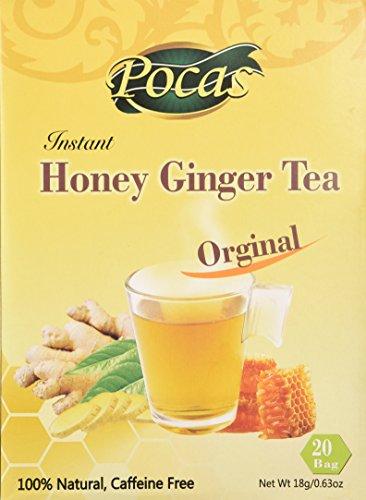 Instant Honey Ginger Crystals (Honey Ginger Original 20 Bags)