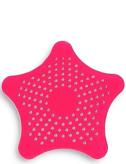 HomeTools.eu® - XXL großes Silikon Abfluss-Sieb mit Saugnäpfen | für Küche Spüle Bad Wanne Dusche gegen Haare, Krümel | 15 x
