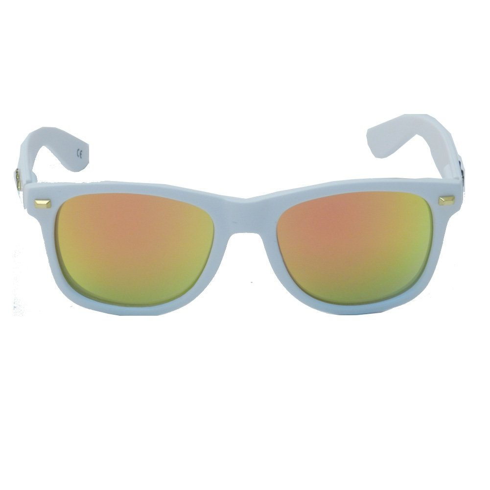 Gafas de Sol Knockaround Fort Knocks Matte White Sunset ...