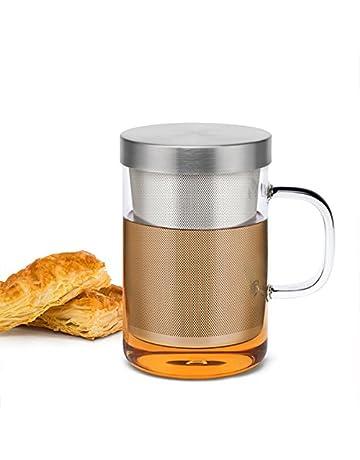Sama Verre en Borosilicate de Haute qualité Tasse à thé avec Filtre  Infuseur en Acier Inoxydable b465d804bafa