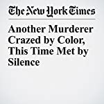 Another Murderer Crazed by Color, This Time Met by Silence   Jim Dwyer