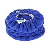 microfiber polishing bonnet - SPTA Car Polisher Pad Bonnet Soft Microfiber Polishing Bonnet Buffing Pad Cover For 5