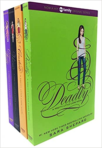 Pretty Little Liars Series 4 Collection Sara Shepard 4 Books