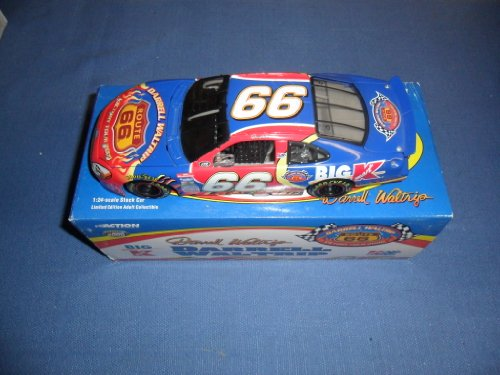 (2000 NASCAR Action Racing Collectibles . . . Darrell Waltrip #66 Kmart Victory Tour Ford Taurus 1/24 Diecast . . . Limited Edition 1 of 8,996)