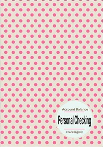 buy personal checking account balance check register personal