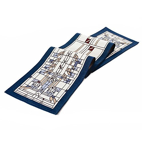 Frank Lloyd Wright Waterlilies Tapestry Table Runner