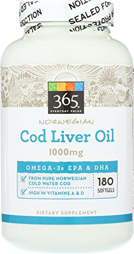 365 Everyday Value Fish Oil 250 Ct 2019 Fish Oil