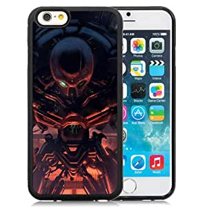 Beautiful And Unique Designed With Cyborg Robot Man Torch Chain Break For iPhone 6 4.7 Inch TPU Phone Case