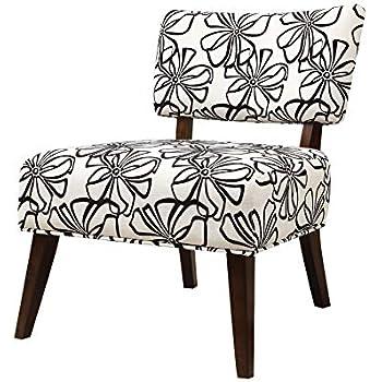 Amazon Com Homelegance Orson Swirl Print Fabric Armless