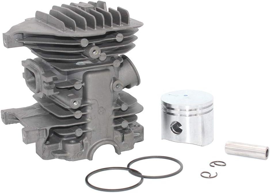 Kit de pist/ón de cilindro para Oleo Mac 941 941C 941CX GS410 GS410C GS410CX Efco 141SP 50172021 Euro 2