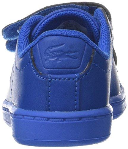 Lacoste Carnaby Evo 317 5, Entrenadores Unisex Bebé Azul (Blu)