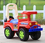 GoodLuck Baybee Kids Ride On Jeep Push Car for Toddlers Baby Jeep Toy Children Rider & Infant Baby Jeep Toys | Kids Suitable For Boys & Girls(1-2 years)(Red)