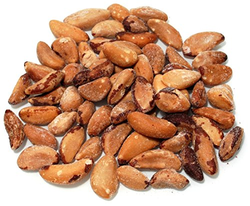 Weaver Nut Whole Brazil Nuts Roasted Salted (1 LB.)