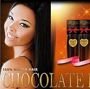 Amazon chocolate hair weave 18 color 1 jet black hair chocolate hair weave 18quot pmusecretfo Image collections
