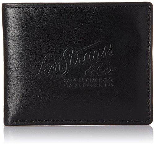Levi's Black Men's Wallet (77173-0355)