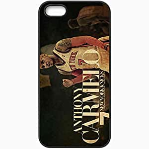 Personalized iPhone 5 5S Cell phone Case/Cover Skin 14732 knicks wp 44 sm Black by lolosakes