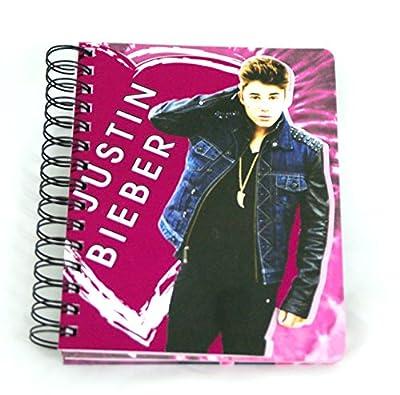 Justin Bieber Die Cut Double Spiral Notebook
