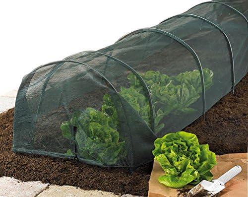 Túnel de malla resistente para proteger las plantas del jardín ...