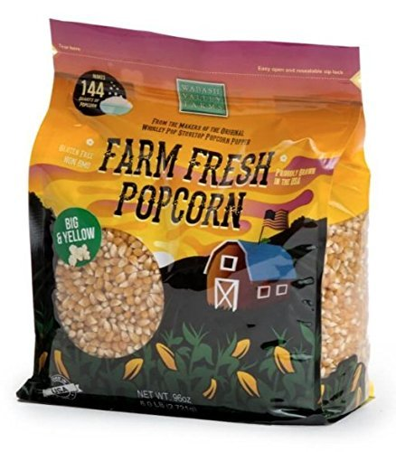 Wabash Valley Farms 46409 Gourmet Popping Corn- Big and Yellow 6 pounds