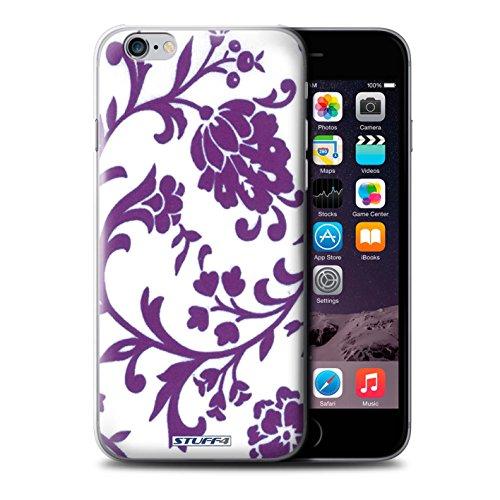 Coque de Stuff4 / Coque pour iPhone 6+/Plus 5.5 / Fleurs Pourpre Design / Motif floral Collection / par Deb Strain / Penny Lane Publishing, Inc.