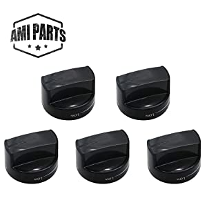 W10339442 Range Burner Knob Compatible with Whirlpool Stove Oven Replacement Parts by AMI - Replaces PS11753188 WPW10339442 WPW10339442VP