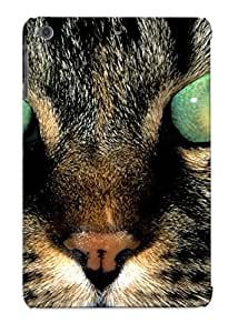 Guidepostee Case Cover For Ipad Mini/mini 2 - Retailer Packaging Animal Cat Protective Case