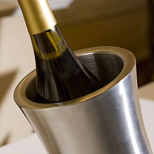 Personalized Stainless Steel Wine Chiller by Center Gifts (Image #2)