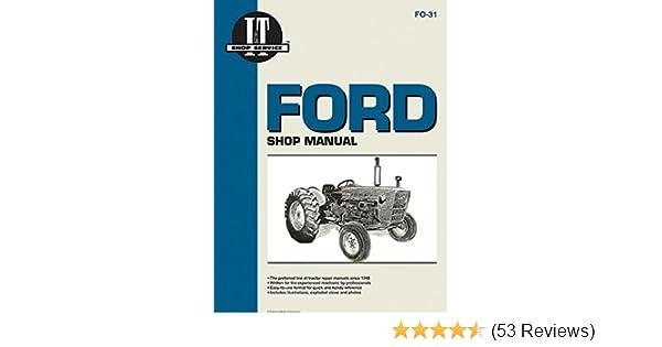 ford shop manual series 2000 3000 \u0026 4000 \u003c 1975 (i \u0026 t  ford 3600 diesel tractor wiring diagram