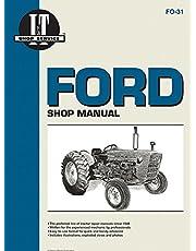 Ford Shop Manual Series 2000 3000 & 4000 < 1975