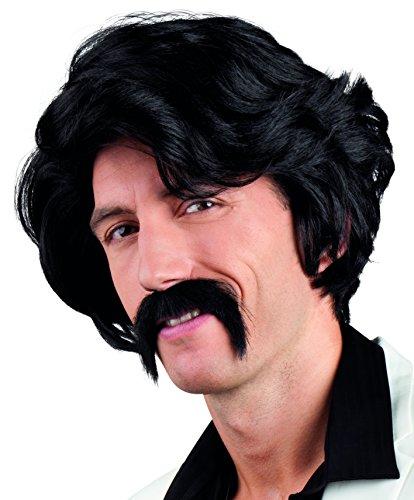 Perücke mit Schnurrbart für Herren Borat BOLAND 86346