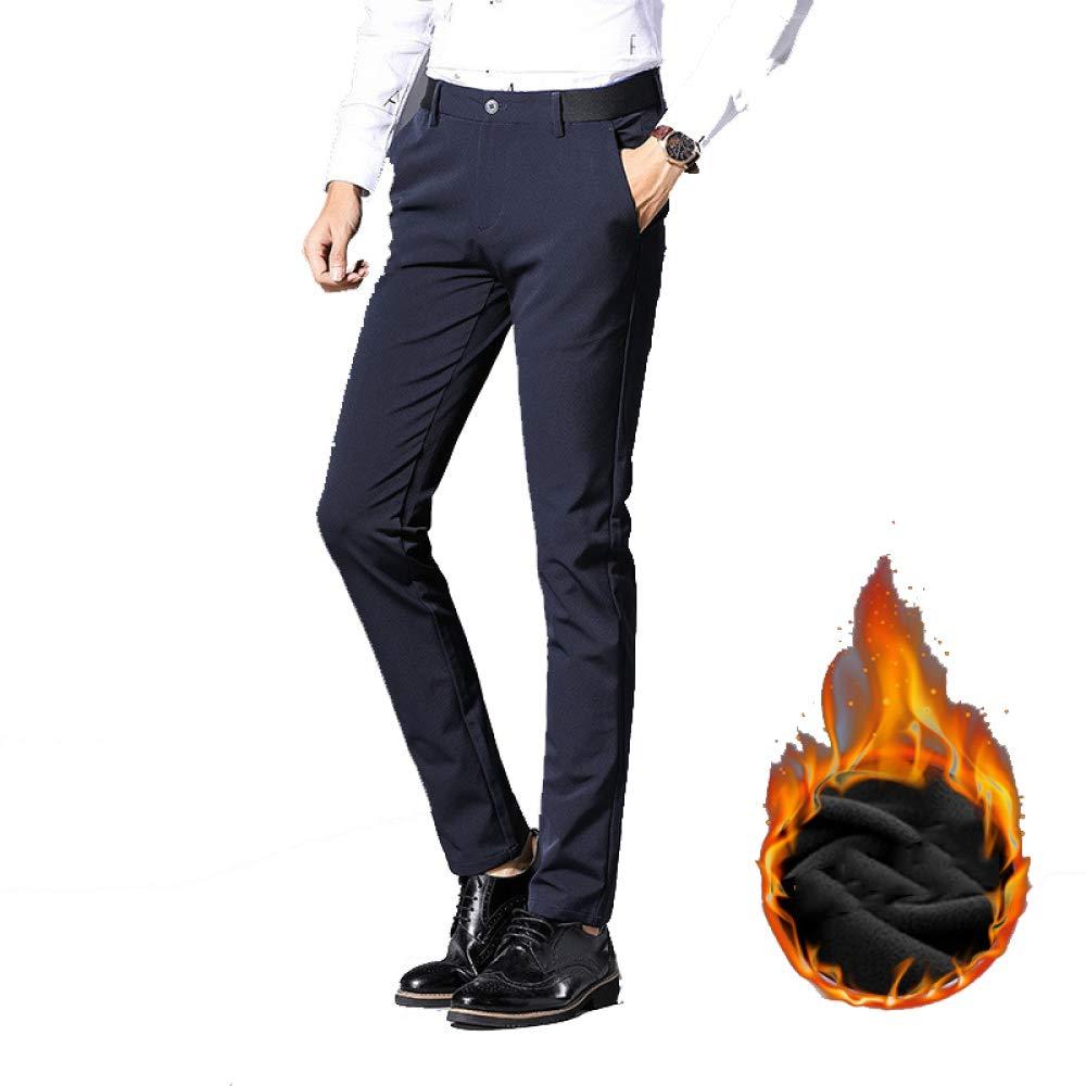 SBL Invierno Más Terciopelo Pantalones Casuales de Hombre ...