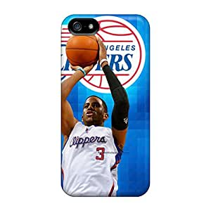 EricHowe Iphone 5/5s Scratch Resistant Hard Phone Covers Support Personal Customs Lifelike Chris Paul Pattern [Sqc7572Uunw]