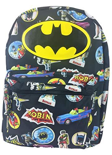 Batman Comic 16 Standard Size Backpack ()