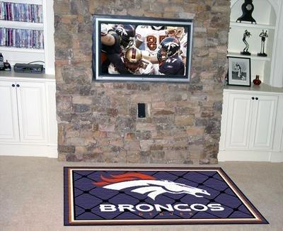 - Fanmats NFL - Denver Broncos 4 x 6 Rug