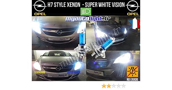 100w H7 Blanco Xenon Bulbs haz principal para encajar OPEL ASTRA J Sports Tourer J