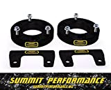 """Chevy 2.5"""" Front CNC Machined Billet Spacers Suspension Leveling Lift Kit CH2.5T"""